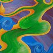 Rainbow Healing For Family Art Print