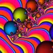 Rainbow Universe Art Print
