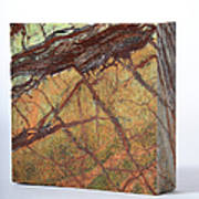 Rainforest Green Marble Art Print