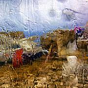 Rainy Day Abstract 3 Art Print