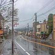 Rainy Day Nikko Art Print