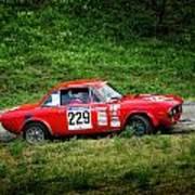 Rally Lancia 02 Art Print