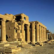 Ramesseum Temple, Luxor, Egypt Art Print