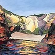 Ramsey Island - Land And Sea No 2 Art Print