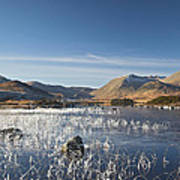 Rannoch Moor - Winter Art Print