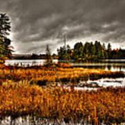 Raquette Lake In The Adirondacks Art Print