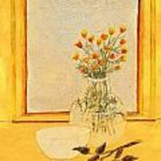 Rare Rosebuds Art Print
