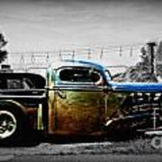 Rat Rod Profile Art Print
