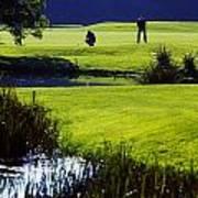 Rathsallagh Golf Club, Co Wicklow Art Print