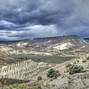 Rattlesnake Ridge Geological Site Art Print