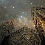 Magical Rattling Sky Art Print