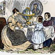 Reading, 1866 Art Print