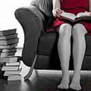 Reading Art Print by Joana Kruse