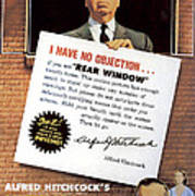 Rear Window, Alfred Hitchcock, James Art Print by Everett