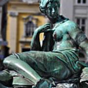 Reclining Nude Vienna Art Print