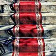 Red Carpet Treat Art Print