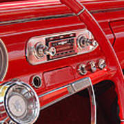 Red Chevy II Art Print