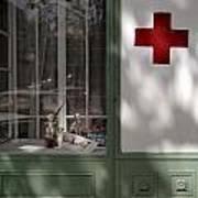 Red Cross. Belgrade. Serbia Art Print