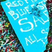 Red Fish Blue Fish Sale Art Print