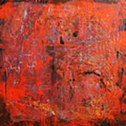 Red Ice Art Print
