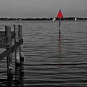 Red Marker 6 Art Print