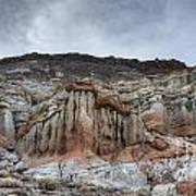 Red Rock Canyon Cliffs Art Print