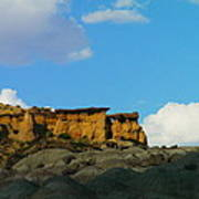 Red Rock In New Mexico Art Print