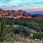 Red Rock Sunset II Art Print