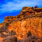 Red Rocks Park Colorado IIi Art Print