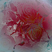 Red Roses Rose Rosse Art Print