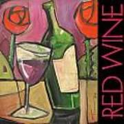 Red Wine Poster Art Print