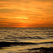 Redington Beach Sunset Art Print
