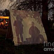 Reenactors Camp Art Print