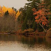 Reflecting On Autumn Art Print