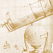Reflecting Telescope Art Print