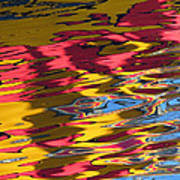 Reflection Abstraction Art Print