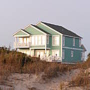 Reflections from a Beach House Art Print