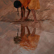 Reflections Of India Art Print