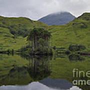 Reflections Of Loch Ailt Art Print