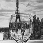 Reflexions Francaises Art Print