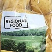 Regional Food Art Print