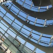 Reichstag Dome Art Print