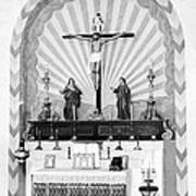 Religion, Mission San Carlos Borromeo Art Print