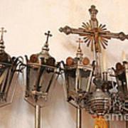 Religious Artifacts Art Print