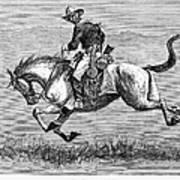 Remington: 10th Cavalry Art Print