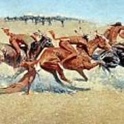 Remington: Indian Warfare Art Print