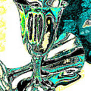 Renaissance Toasting Goblets Photograph And Digital Painting Art Print