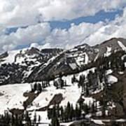 Rendezvous Mountain 2 Art Print