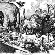 Republican Elephant, 1874 Art Print