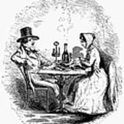 Restaurant, 19th Century Art Print